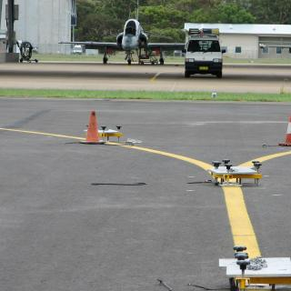 Installation of Taxiway centreline lights