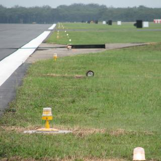 New and old Runway Lighting